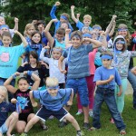 Blue Team Wins! 2015 Field Day