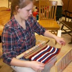 Weaving In Art Class