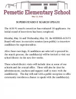Newsletter 5/13/16