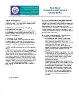 Flu Clinic – Fact Sheet