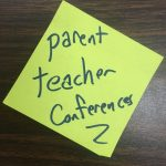 Signup online for Parent/Teacher Conferences (Week of Oct. 17th)