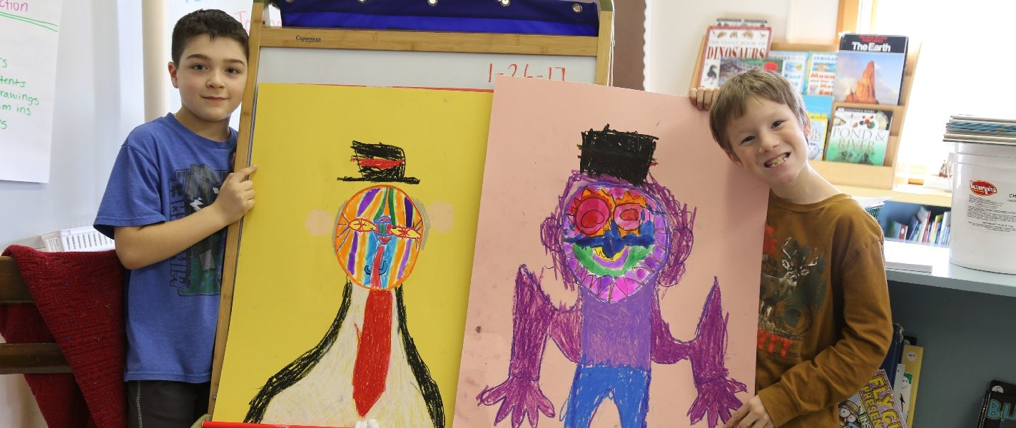 2nd Grade Art with Mary Lyman