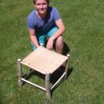 Mr. Sattler's Art Students Making Rustic Furniture