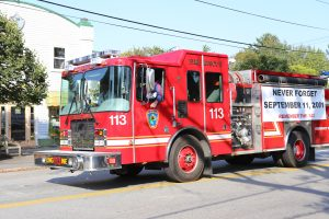 SWH Fire Department honoring the fallen heroes of 9/11