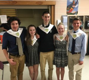 2016 Pemetic National Honor Society