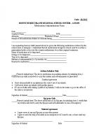 JLCD-E Medication Administration Form